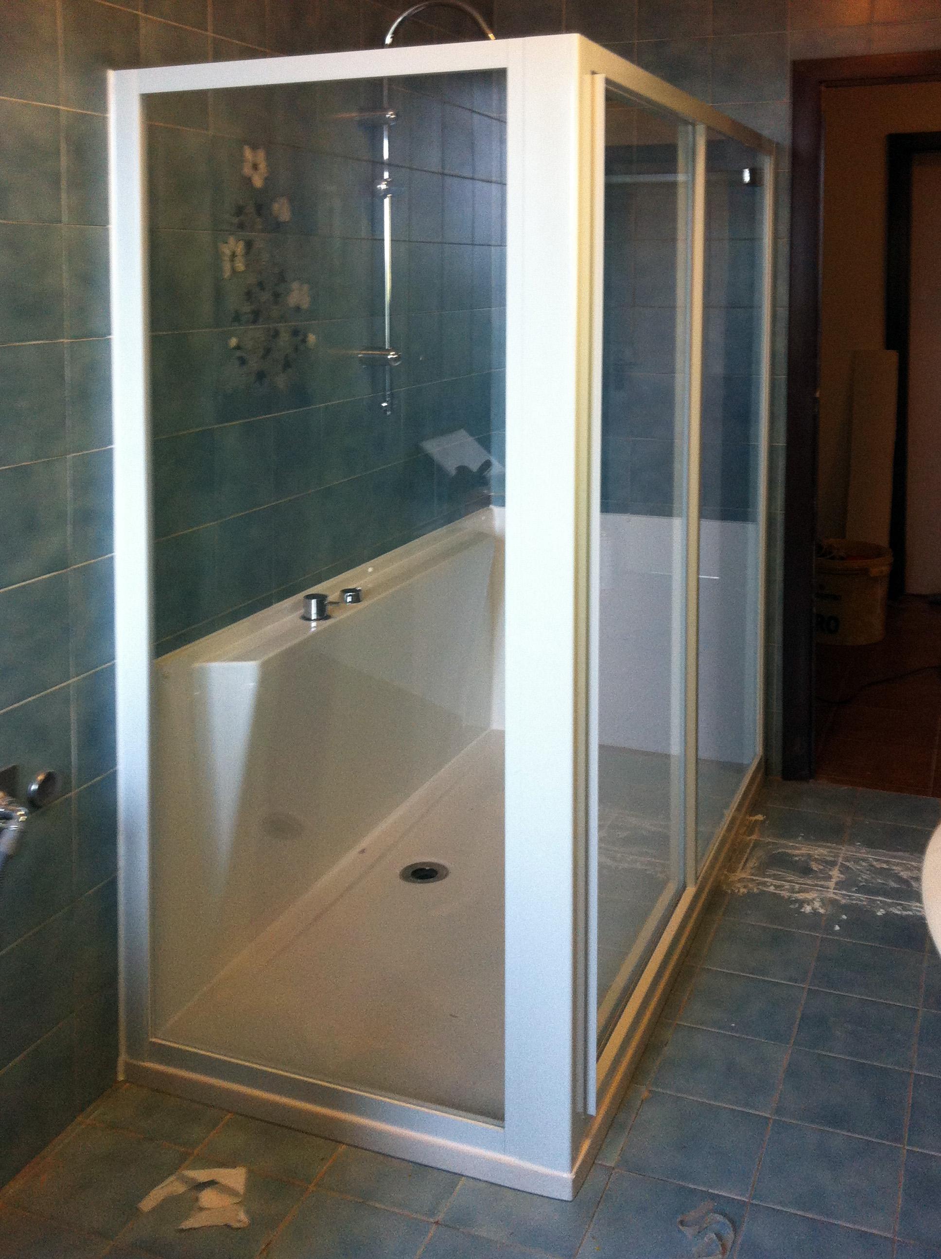 Trasformazione da vasca a doccia - VASCHEDOCCE