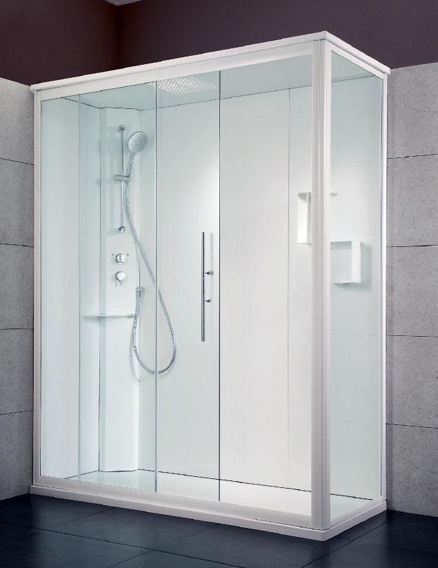 Trasformazione da vasca a doccia chiusa vaschedocce - Grandezza piatto doccia ...