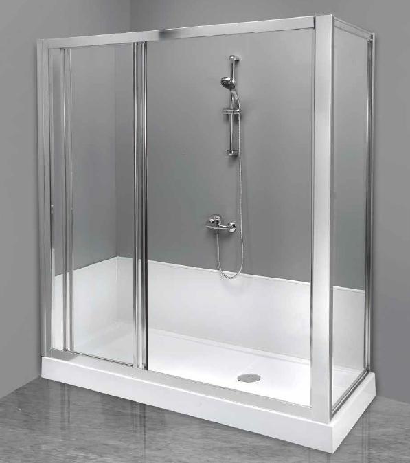 Vaschedocce trasformazione da vasca a doccia - Soluzioni vasca doccia ...